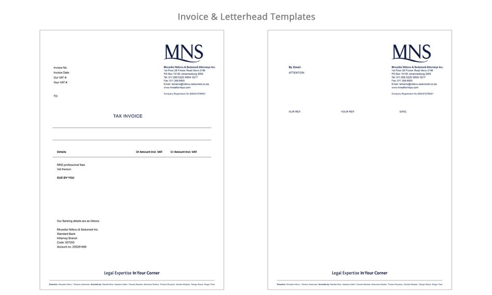 Invoice-letterjead